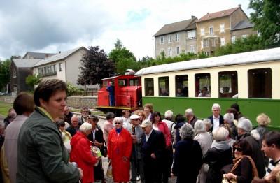 Visite en groupe, mémoire au Chambon-sur-Lignon