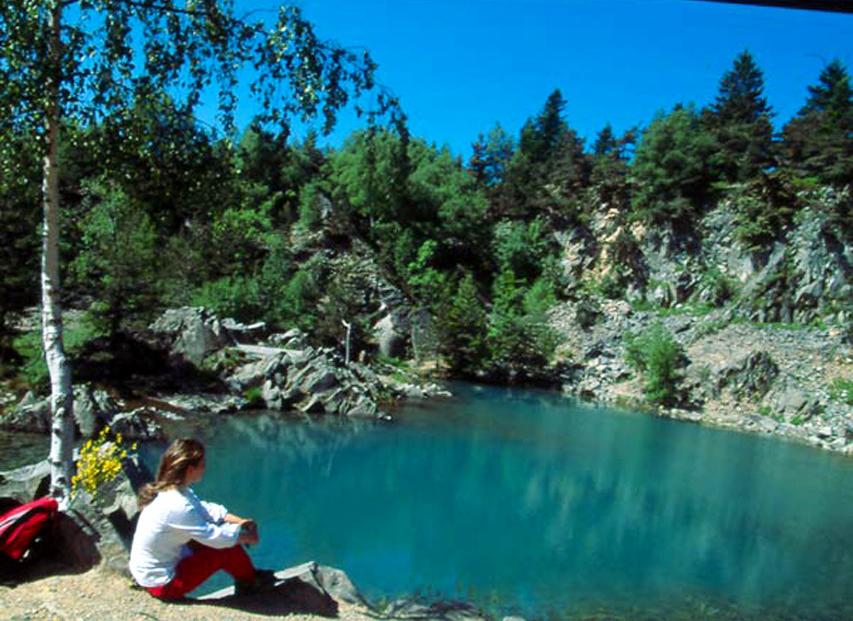 Le lac bleu office de tourisme du haut lignon - Office tourisme haute loire ...